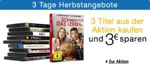 [AMAZON] 3 Tage Herbstangebote für DVD und Blu-ray vom 26. bis 28. Oktober