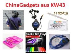 [CHINA GADGETS] Die besten ChinaGadgets und China-Schnäppchen aus KW 43/2012: