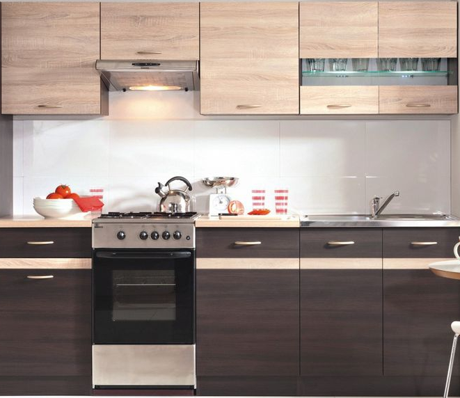 [KÜCHE] Ganze Küchenzeile 230cm Ohne Geräte Für Nur 288,  Euro Inkl.  Anlieferung   Snipz.de