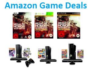 [AMAZON GAME DEALS DER WOCHE] Medal of Honor: Warfighter – Limited Edition (inkl. Zugang zur Battlefield 4-Beta) für X360 und PS3 und verschiedene XBox Bundles.