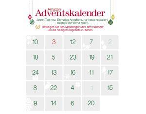 [AMAZON] Der neue Amazon-Adventskalender 2012 – heute das dritte Törchen vom 3. Dezember!