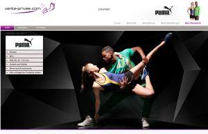 [PUMA] Sale bei Vente! Heute viele Puma-Artikel wie Port-Bekleidung oder Schuhe mit Rabatten bis zu 80%