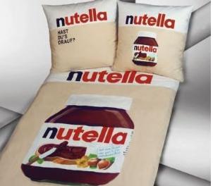 meinpaket nutella bettw sche set f r nur 26 95 euro inkl versand. Black Bedroom Furniture Sets. Home Design Ideas