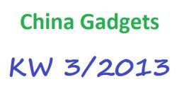 [CHINA GADGETS] Die besten ChinaGadgets und China-Schnäppchen aus KW 03/2013