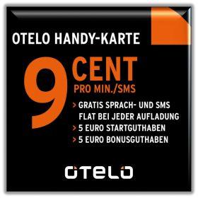 [EBAY] Endlich wieder da! O.TEL.O Prepaidkarten mit 5,- Euro Startguthaben in begrenzter Stückzahlt für nur 2,45 Euro!