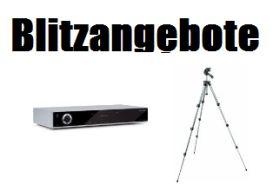 [AMAZON] Blitzangebot! Die Amazon Blitzangebot vom 5. März 2013 ab 18:00 Uhr – TechniSat HD Satreceiver und Manfrotto Stativ