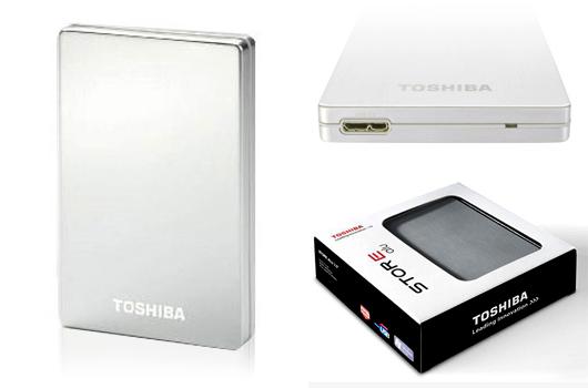 [GAUDIO.DE] Noch verfügbar: Externe 2,5″ Festplatte im Alu-Gehäuse Toshiba StorE Alu 2S USB 3.0 mit 1TB Speicher in silber für nur 64,90 Euro inkl. Versand!