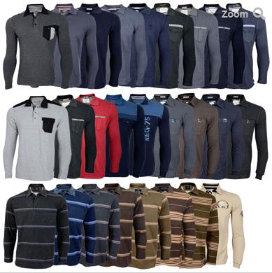 [EBAY WOW! #3] Viele verschiedene AR-MA Herren Polo Langarmshirts in den Größen M-2XL für je nur 15,90 Euro inkl. Versand!