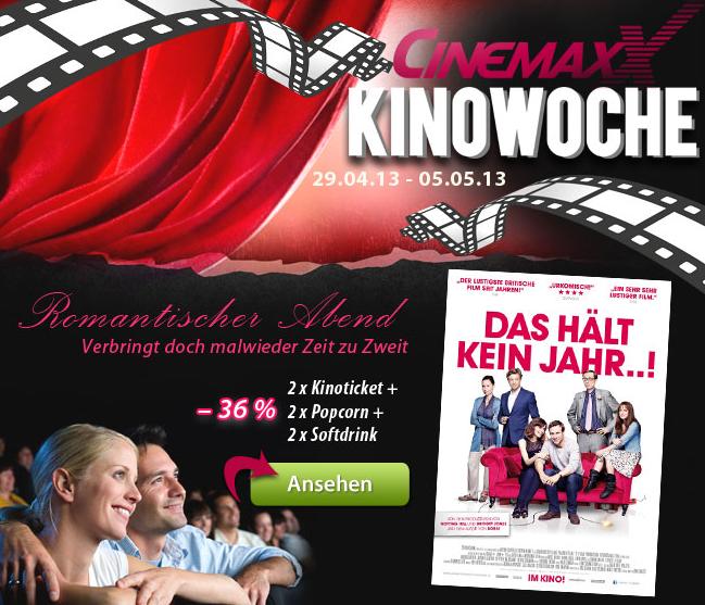 Cinemaxx Preise
