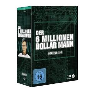 [AMAZON.DE] Der 6 Millionen Dollar Mann – Staffeln 1-3 (14 Discs) für nur 28,31 Euro inkl. Versand