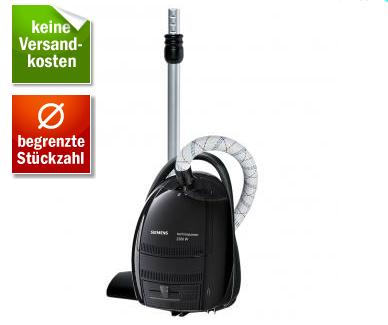 [REDCOON.DE] Siemens VS07G22EX Bodenstaubsauger mit 2200 W und Textilschlauch für nur 89,99 Euro inkl. Versand!