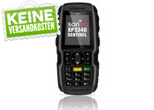 [GETGOODS.DE] Sonim Outdoorhandy XP3340-E Sentinel incl. zertifiziertem PRESENTEC System für nur 354,- Euro inkl. Versand