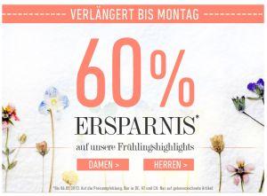[DRESS-FOR-LESS] Aktuell bis zu 60% sparen auf die Frühlings-Highlights + 10% Newslettergutschein!