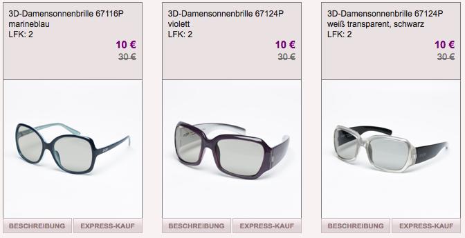 [VENTE PRIVEE] Nur heute! Sale Aktion für Calvin Klein Sonnenbrillen – verschiedene Modelle ab 10,- Euro!