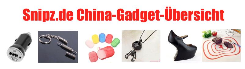 [CHINA GADGETS] Die besten ChinaGadgets und China-Schnäppchen aus KW 26/2013