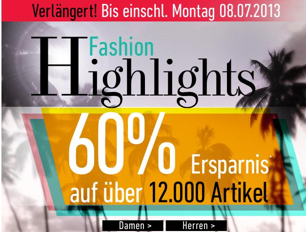 [DRESS-FOR-LESS] Nur noch heute und morgen! 60% auf viele Artikel aus dem Sortiment + 10,- Euro Newslettergutschein