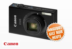 [SATURN SUPER SUNDAY] Canon IXUS 510 HS in schwarz für nur 99,- Euro!