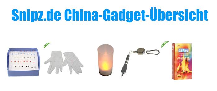 [CHINA GADGETS] Die besten ChinaGadgets und China-Schnäppchen aus KW 30/2013