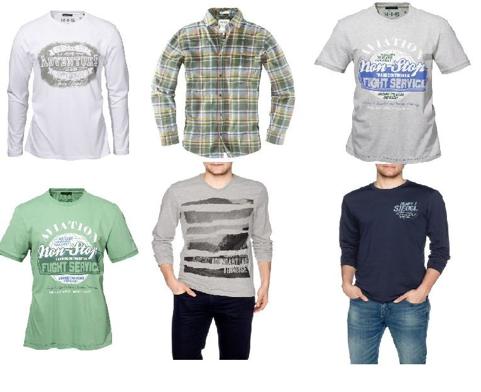 [EBAY WOW!] H.I.S Jeans Herren Longsleeves, T-Shirts und Hemden für je nur 12,99 Euro inkl. Versandkosten!