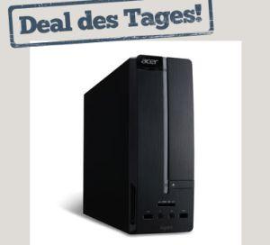 [NOTEBOOKSBILLIGER.DE] PC Acer Aspire XC600 Intel Core i5-3350P 3,10 GHz, 6GB RAM, 1TB HDD, AMD HD8350, Win8 für nur 399,90 Euro inkl. Versand!