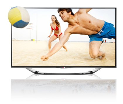 [AMAZON] 47″ Cinema 3D LED-Fernseher mit Full HD, 400Hz MCI, WLAN, DVB-T/C/S und Smart TV nur 629,- Euro inkl. Versand
