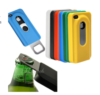 [GADGETWELT.DE] Sinnvolles Apple-Gadget: iPhone Hüllen für iPhone 4 und 5 mit integriertem Flaschenöffner!