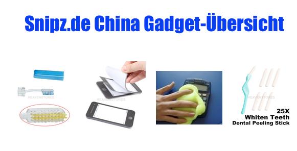 [CHINA GADGETS] Die besten ChinaGadgets und China-Schnäppchen aus KW 31/2013