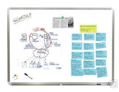[EBAY WOW!] Whiteboard Magnettafel in 60 x 45 cm nur 9,88 Euro inkl. Versandkosten!