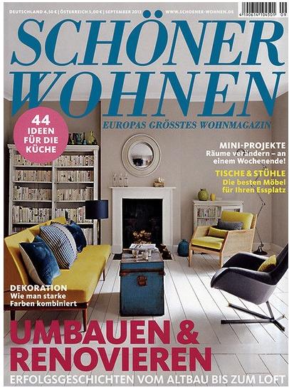 tipp magazin sch ner wohnen jahreabo frei haus effektiv nur 7 60 euro statt normal 57 60. Black Bedroom Furniture Sets. Home Design Ideas