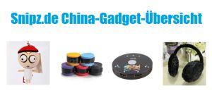 [CHINA GADGETS] Die besten ChinaGadgets und China-Schnäppchen aus KW 35/2013