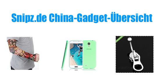 [CHINA GADGETS] Die besten ChinaGadgets und China-Schnäppchen aus KW 36/2013