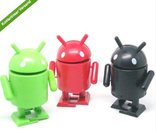 [GADGETWELT.DE] Cool! Der Android Roboter zum Aufziehen für nur 94 Cent inkl. Versand aus China!