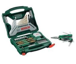 [CONRAD] Wieder da, noch günstiger! Bosch Promoline 70-tlg. X-Line Bohrer-Set + Multitool für nur 24,99 Euro inkl. Versand!