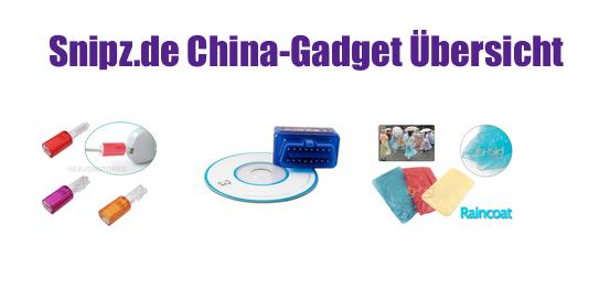 [CHINA GADGETS] Die besten ChinaGadgets und China-Schnäppchen aus KW 42/2013