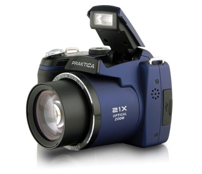 [EBAY WOW!] Praktica Digitalkamera LM 16-Z21S in silber oder blau für je nur 99,- Euro inkl. Versand!