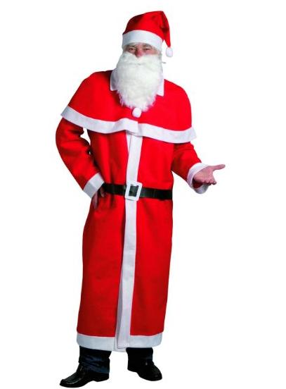 amazon weihnachtsmann kost m 5 teilig mantel mit cape. Black Bedroom Furniture Sets. Home Design Ideas