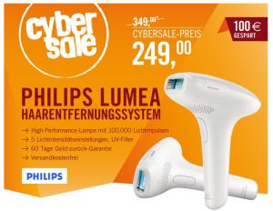 [CYBERPORT CYBERSALE] Philips SC1992/00 Lumea Essential Plus IPL Haarentfernungssystem für nur 249,- Euro!