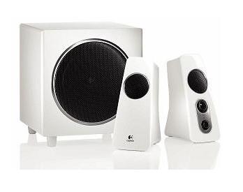[EBAY.DE] B-Ware Schnäppchen: Logitech Z523 2.1 Lautsprechersystem mit 40W RMS in weiss für nur 39,80 Euro inkl. Versand!