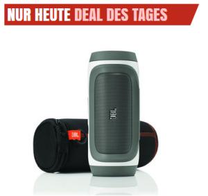 [NOTEBOOKSBILLIGER.DE] Ab 10:00 Uhr! JBL Charge Schwarz Bluetooth-Lautsprechersystem mit Akku für nur 115,99 Euro!
