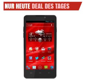 [NOTEBOOKSBILLIGER.DE] Ausgefallener Androide! Prestigio Multiphone 4505 DUO (Dualsim) Smartphone für nur 134,89 Euro inkl. Versand!
