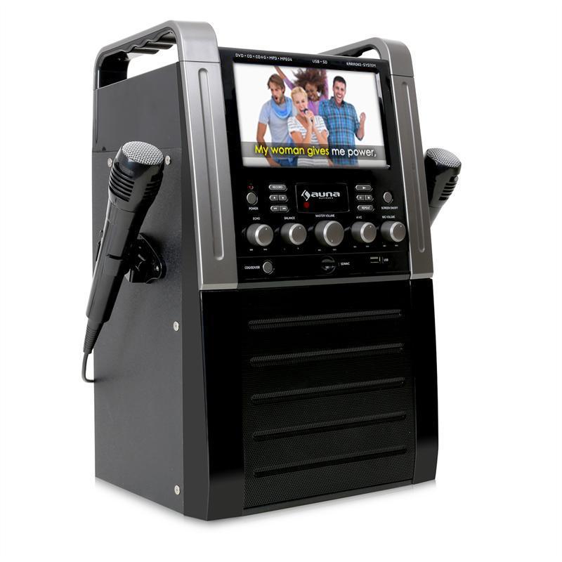 ebay wow auna ka8b karaokeanlage schwarz oder pink f r nur 99 euro inkl versand. Black Bedroom Furniture Sets. Home Design Ideas