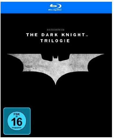 Batman – The Dark Knight Trilogy [Blu-ray] für nur 14,97 Euro bei Prime inkl. Versand
