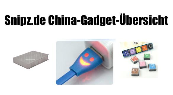 [CHINA GADGETS] Die besten ChinaGadgets und China-Schnäppchen aus KW 50/2013