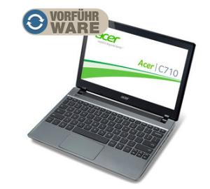 [NOTEBOOKSBILLIGER.DE] Acer Chromebook C710-10072G01ii mit Intel Celeron 2x 1,5GHz, 2 GB RAM, 11,6″ Display und Chrome OS für nur 149,99 Euro!