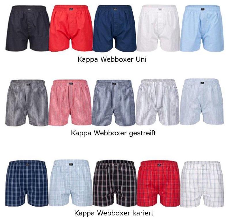 """[EBAY] WOW! 4er Pack Web-Short """"Elmir"""" von Kappa für nur 22,99 Euro inkl. Versand!"""