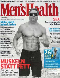 [LESERSERVICE] TOP! Men's Health Jahresabo (13 Monate) für effektiv nur 9,- Euro (statt normal 54,- Euro)- auch GQ oder Playboy!