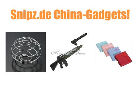 [CHINA GADGETS] Die besten ChinaGadgets und China-Schnäppchen aus KW 8/2014