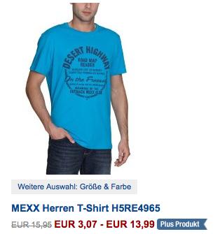 [AMAZON.DE] Klamottenschnäppchen! Viele Artikel von Mexx stark reduziert – z.B. T-Shirts ab 3,07 Euro