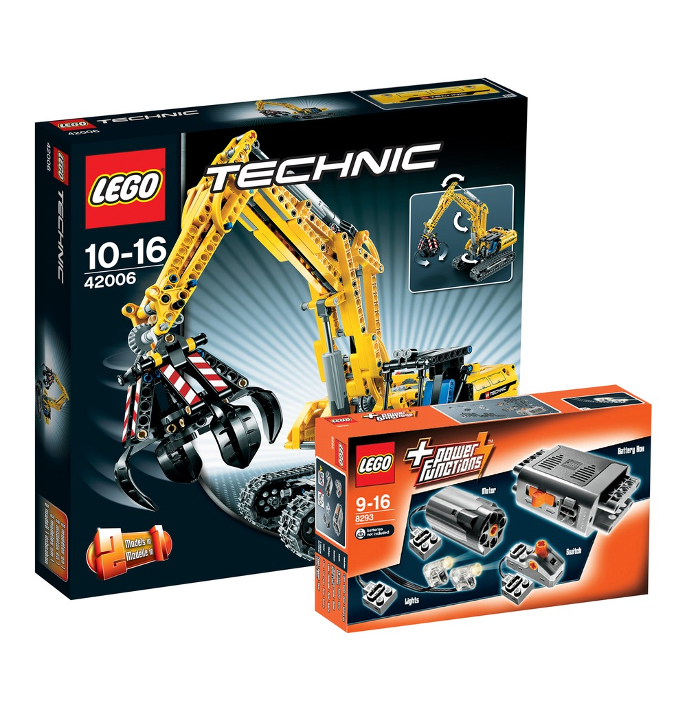 galeria kaufhof lego technic raupenbagger 42006 power. Black Bedroom Furniture Sets. Home Design Ideas