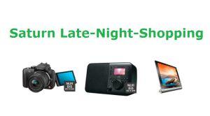 [SATURN.DE] Saturn Late Night Shopping am Mittwoch – z.B. Panasonic DMC-G 3 KEG-K+14-42mm Digitalkamera für 249,- Euro statt 292,- Euro!